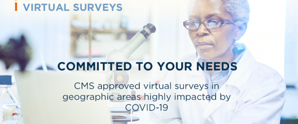 CMS approves COLA for virtual laboratory surveys